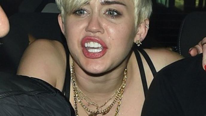 Miley Cyrus, borracha, Londres, Pixie Lott, Kate Moss, Madame Jojo