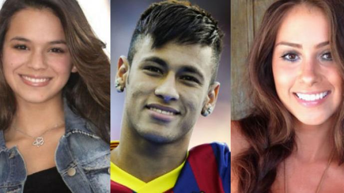Bruna Marquezine, Neymar, Gabriella Lenzi, Barcelona, Real Madrid
