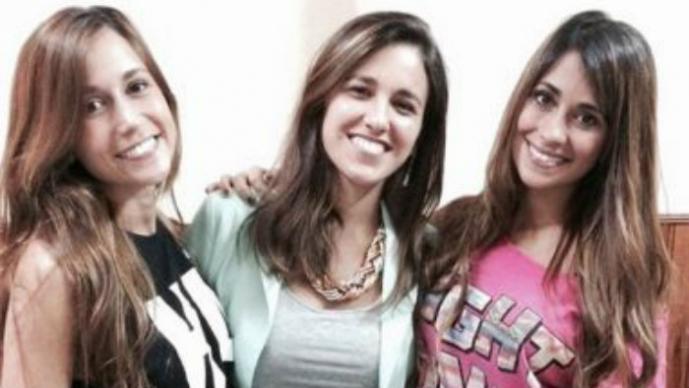 Antonella, Paula y Carla Foto: Instgaram