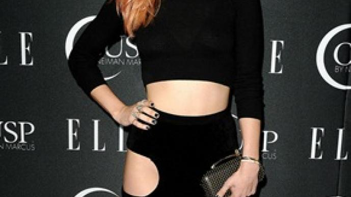 Rumer Willis, entrepierna, vestido, Demi Moore, Bruce Willis, Annual Women Music Event,