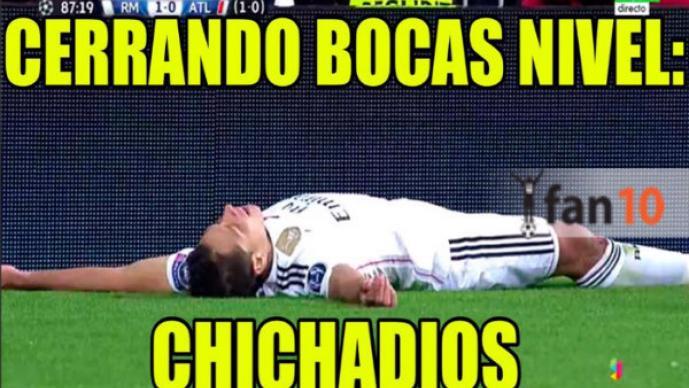 Chicharito, el héroe del Real Madrid   MEMES