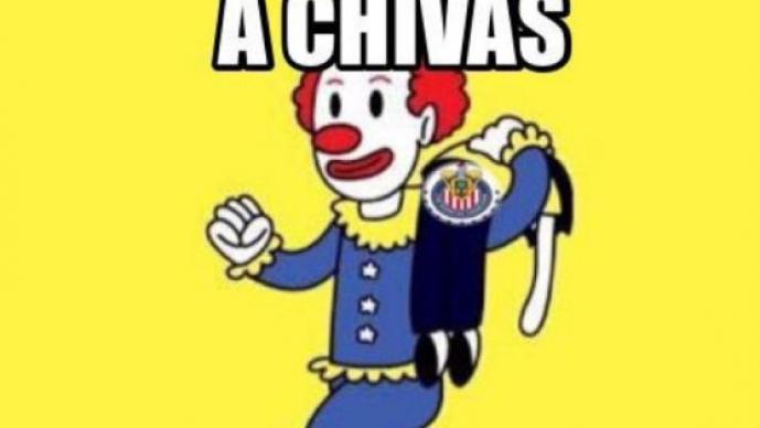 La eliminación de Chivas en memes