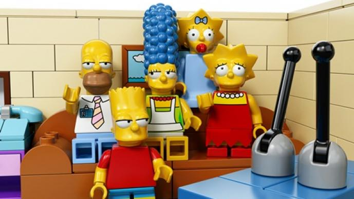 los Simpsons, LEGO, figuritas, juguetes, serie, Homero, Bart, Lisa, Marge y Maggie, el Abuelo, Ralph, Flanders, Mr. Burns, Krusty el payaso, Nelson, el Jefe Gorgori, Apu, Milhouse, Tomy y Daly