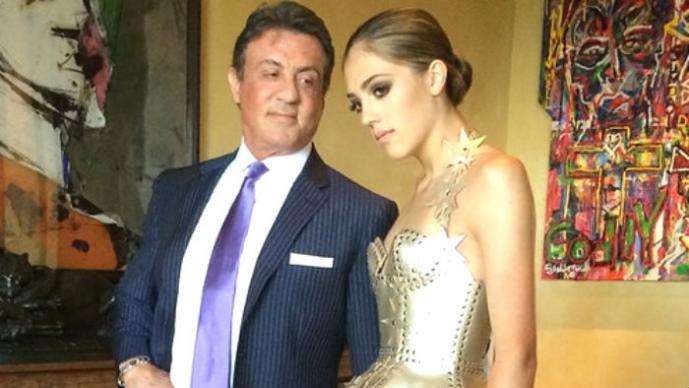 Sistine Stallone, la sensual hija de Sylvester Stallone