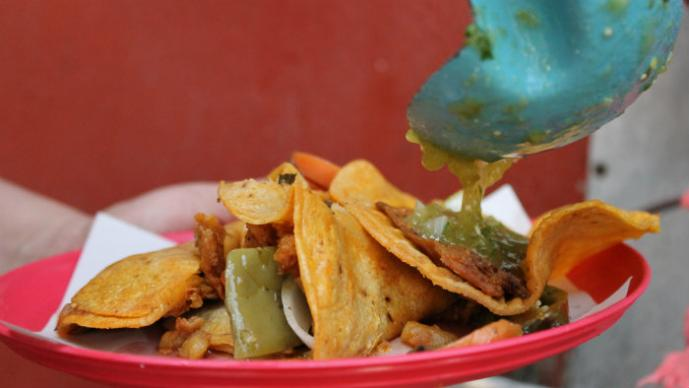 LA BANQUETERA: Los clásicos tacos de canasta