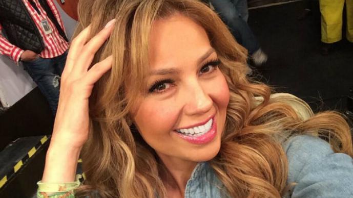Thalía revela el secreto para mantener su figura | FOTOS
