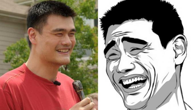 Lo que no sabías de Yao Ming, el padre de los memes (Fotos: Facebook)