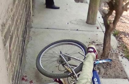 Acribillan a joven ciclista que se paseaba por calles de Chalco, en Edomex