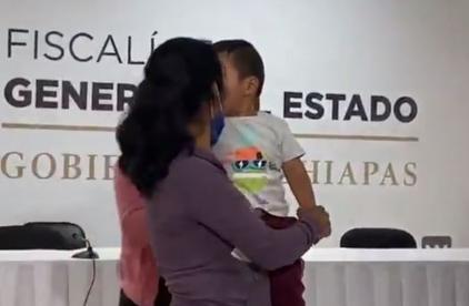 Encuentran a Dylan, bebé tzotzil que estuvo más de un mes desaparecido en Chiapas