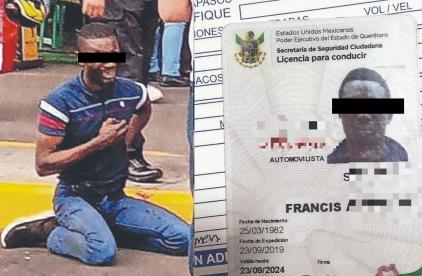 Nigeriano visita la CDMX, va al banco y lo asaltan a balazos; usó traductor de Google