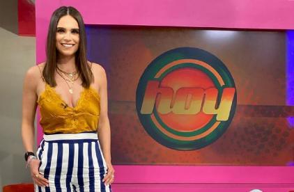 """Tras sustituir a Andrea Legarreta, confirman a Tania Rincón como nueva integrante en """"Hoy"""""""