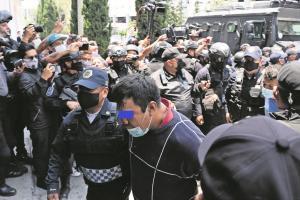 Tras operativo, detienen a 55 personas para liberar predio invadido en Tlalpan