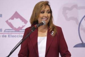 Lorena Cuéllar se declara ganadora del segundo debate de candidatos para gobernar Tlaxcala