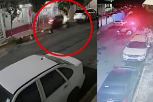 Video capta brutal muerte de dos bikers en Iztapalapa, patrulla los perseguía pero no se detuvo