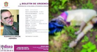 Joven estaba desaparecido; lo hallan muerto, en Toluca. Noticias en tiempo real