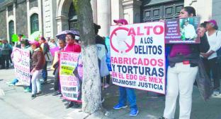 Exigen amnistía para presos políticos, en el Estado de México . Noticias en tiempo real