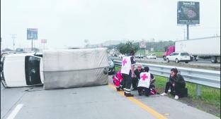 Iba a exceso de velocidad y se impactó contra un auto en la México- Querétaro. Noticias en tiempo real