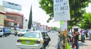 Identifican a taxistas piratas, en Toluca . Noticias en tiempo real