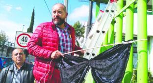 Activistas exigen al gobierno poner fin a atracos en transporte público, en Toluca. Noticias en tiempo real