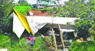 Tormentas provocan derrumbe de una casa con sus habitantes, en Lerma. Noticias en tiempo real