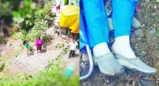 Mujer muere tras volcar cuatrimoto y caer varios metros hacia un río, en Tejupilco. Noticias en tiempo real