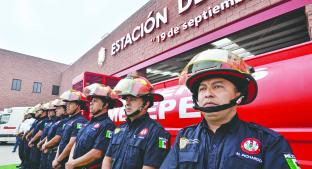 Bomberos de Metepec estrenarán nueva estación. Noticias en tiempo real