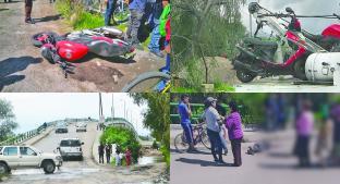 Fallece piloto en choque de motonetas, en Lerma. Noticias en tiempo real