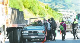 Choque mortal descabeza a copiloto, en Tenango del Valle. Noticias en tiempo real