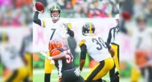 Steelers vence a Cincinnati en duelo por la conferencia americana. Noticias en tiempo real