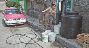 Padecerá corte de agua el 45% de habitantes de la CDMX. Noticias en tiempo real