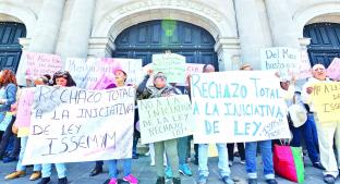 Legisladores buscarán derogar la Ley ISSEMyM, en Toluca. Noticias en tiempo real