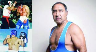 Blue Panther cumplió 40 años como luchador profesional. Noticias en tiempo real