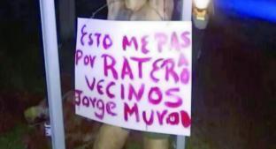 Turba da mortal lección a presunto delincuente, en Puebla. Noticias en tiempo real