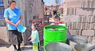 Organismo de Agua y Saneamiento de Toluca prometen mandar pipas por corte de agua. Noticias en tiempo real
