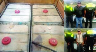 Detienen a policía huachicolero en Acambay. Noticias en tiempo real