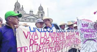 Pobladores de Tlalcilalcalpan insisten en luchar por su autonomía . Noticias en tiempo real