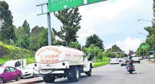 Prolongan corte de agua en algunas colonias de Toluca . Noticias en tiempo real