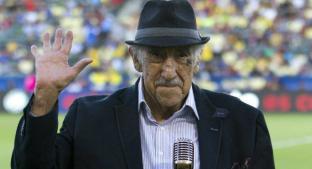 Muere a los 90 años Melquiades Sánchez, la voz del Estadio Azteca y Canal 5. Noticias en tiempo real