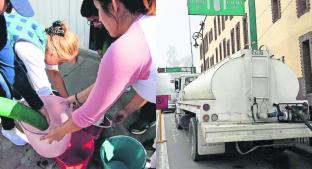 Pese a bombeo, agua no llega a Toluca; pipas abusan con precios. Noticias en tiempo real