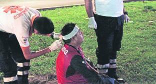 Automovilista embiste a tamalero que viajaba en su triciclo, en Jiutepec. Noticias en tiempo real