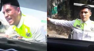 """Revelan nuevo video del policía atropellado en Atizapán """"inventando"""" una infracción . Noticias en tiempo real"""