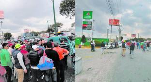 Automovilistas de Toluca acusan que distribución de combustible no es equitativa. Noticias en tiempo real