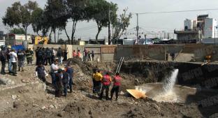 Batallan en búsqueda de trabajador sepultado por deslave, en obra de Gustavo A. Madero. Noticias en tiempo real
