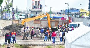 Rescatan cuerpo de trabajador sepultado en construcción, en alcaldía Gustavo A. Madero. Noticias en tiempo real
