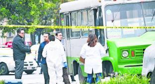 Crece 25 por ciento el robo a transporte público en la Ciudad de México. Noticias en tiempo real