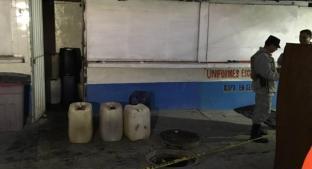 Revelan toma clandestina de gasolina en mercado de la CDMX. Noticias en tiempo real