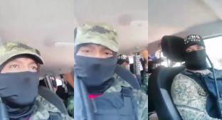 Presuntos sicarios del CJNG graban mensaje a criminales de la Gustavo A. Madero. Noticias en tiempo real