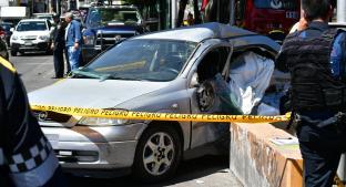 Abuelita se queda sin frenos y muere al impactarse contra camión, en Tlalpan. Noticias en tiempo real