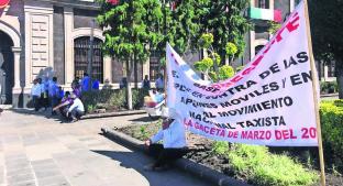 Taxistas del Edoméx protestan por nuevas reglas de seguridad. Noticias en tiempo real