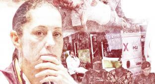 Inseguridad aumenta y crimen organizado a la baja durante gobierno de Claudia Sheinbaum. Noticias en tiempo real